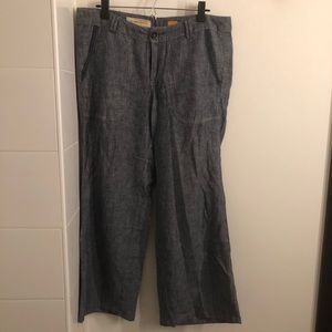 Wide Leg Anthropologie Pants